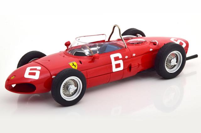 [予約] CMR 1/18 フェラーリ 156 シャークノーズ ベルギーGP 1961 R.ギンサー CMR172