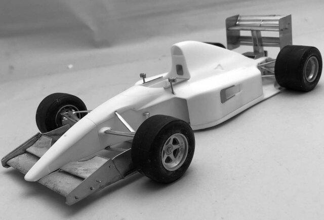 AMC/Dell Paling 1/20 レジンキット フェラーリ 643 日本GP 1991 AMC-DL21
