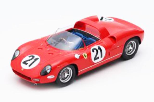 ルックスマート 1/18 フェラーリ 250P ルマン 24h 1963 Winner No.21 LS18LM06 LS18LM06