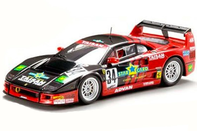 エブロ 1/43 タイサン フェラーリ F40 JGTC 1995 No.34 43951 43951