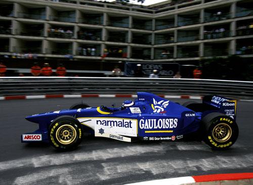 [予約] スパーク 1/43 リジェ JS43 無限ホンダ モナコGP 1996 Winner O.パニス デカール加工品 S7413S
