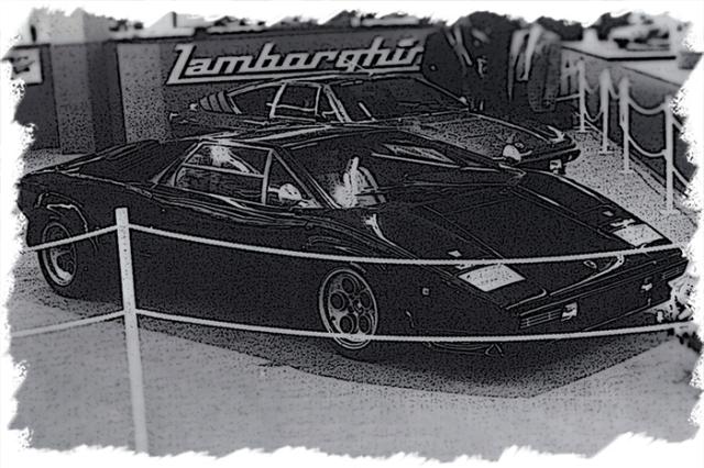 """[予約] アイドロン 1/43 ランボルギーニ カウンタック LP400S プロトタイプ """"ウォルターウルフ3号車"""" ジュネーブモーターショー 1978 EM441A"""