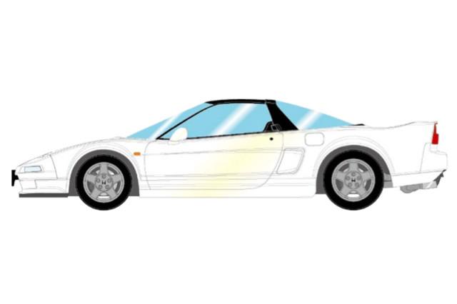 [予約] アイドロン 1/43 ホンダ NSX NA1 1990 ニュートロンホワイトパール EM501E