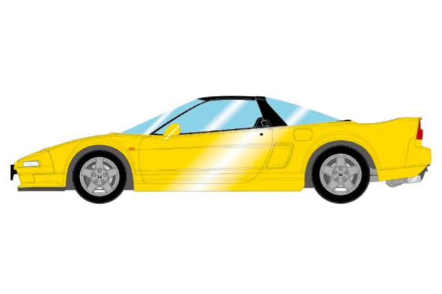 [予約] アイドロン 1/43 ホンダ NSX NA1 1990 インディイエローパール EM501H