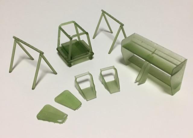 エレファントモデル 1/20 3Dプリント トランスキット マクラーレン MP4/6 オプションパーツセット (フジミ対応) EM2002