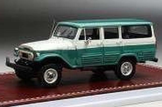 [予約] GIM 1/43 トヨタ FJ45LV LC 1966 グリーン/ホワイト GIM015A