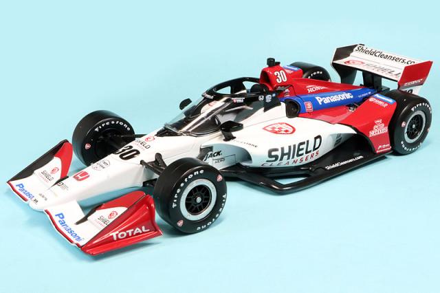 グリーンライト 1/18 R.L.L. Racing ホンダ 2021 佐藤琢磨 GL-11121