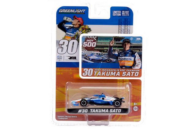 グリーンライト 1/64 レイホール・レターマン・ラニガン・レーシング 2020 INDY500 Winner 佐藤琢磨  GL10884
