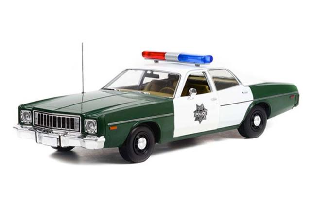 [予約] グリーンライト 1/18 プリムス フューリー 1975 アメリカ合衆国議会警察 GL19116