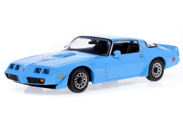 [予約] グリーンライト 1/43 ポンティアック ファイヤーバード トランザム ハードトップ 1979 アトランティス with Hood Phoenix GL86348