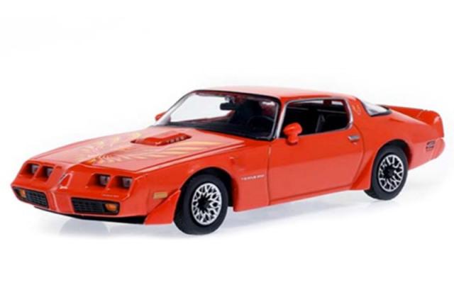 [予約] グリーンライト 1/43 ポンティアック ファイヤーバード トランザム ハードトップ 1979 マヤンレッド with Hood Phoenix GL86349