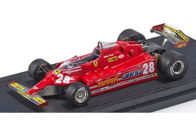 [予約] トップマルケス 1/43 フェラーリ 126 CX D.ピローニ GPR43024B