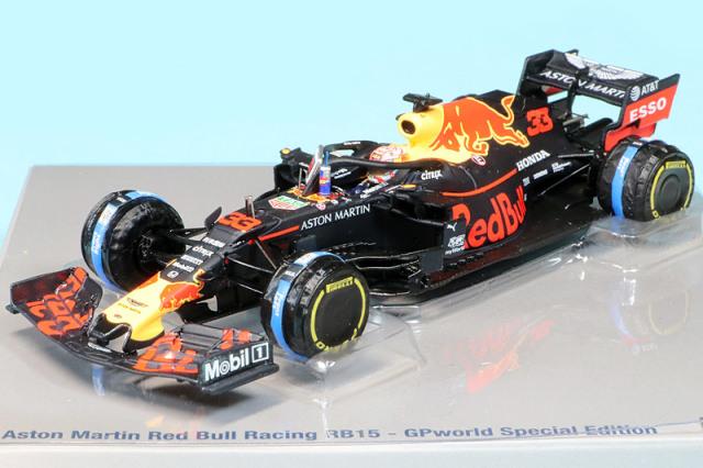 スパーク 1/43 アストン マーチン レッドブル レーシング F1チーム RB15 ハンガリーGP 2019 M.フェルスタッペン ギフトボックス GPWS2019