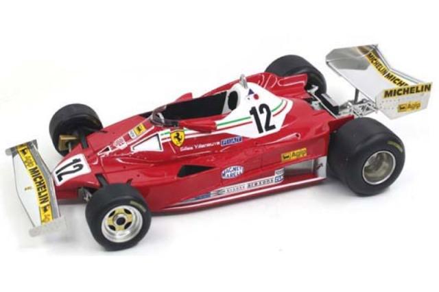 [予約] トップマルケス 1/18 フェラーリ 312 T2 1978 G.ビルヌーブ GRP014H