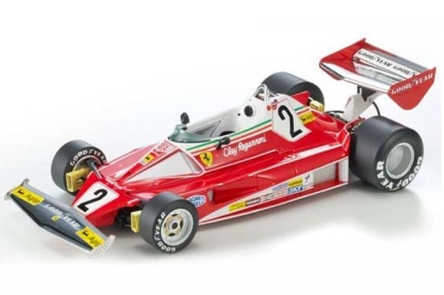 [予約] トップマルケス 1/18 フェラーリ 312 T2 1976 C.レガッツォーニ GRP027B