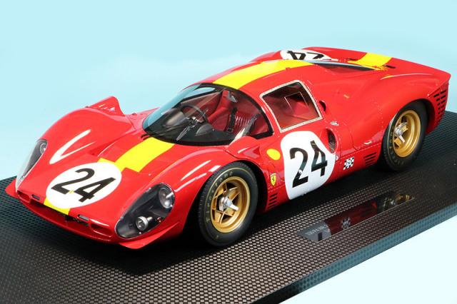 トップマルケス 1/12 フェラーリ 330 P4 ルマン 24h 1967 No.24 GRP12009C