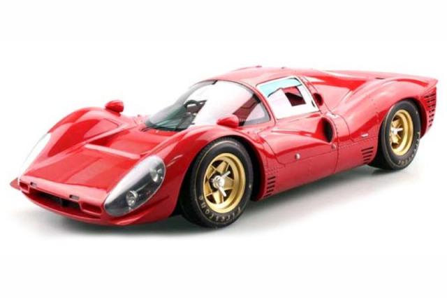 [予約] トップマルケス 1/12 フェラーリ 330 P4 レッド GRP12009D