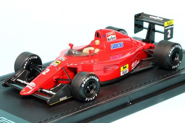 トップマルケス 1/43 フェラーリ 641/2 1990 N.マンセル デカール加工品 GRP43006BS