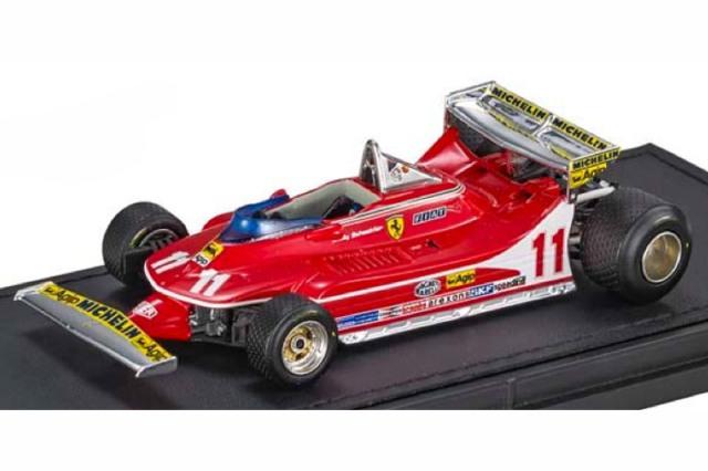 [予約] トップマルケス 1/43 フェラーリ 312 T4 J.ビルヌーブ GRP43012A