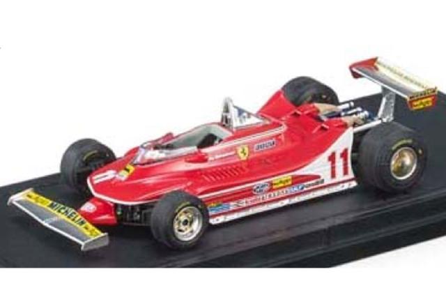 [予約] トップマルケス 1/43 フェラーリ 312 T4 J.シェクター GRP43012F