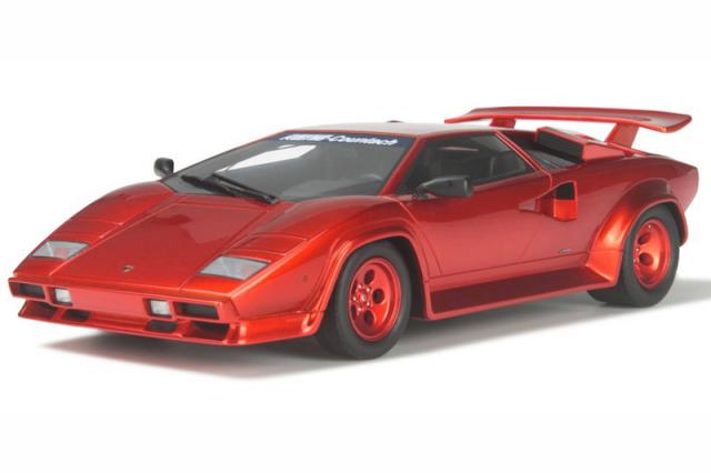 GT-SPIRIT 1/18 ケーニッヒ スペシャル カウンタック ターボ レッドメタリック GTS134