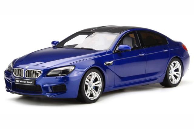 GT-SPIRIT 1/18 BMW M6 グランクーペ ブルー GTS184