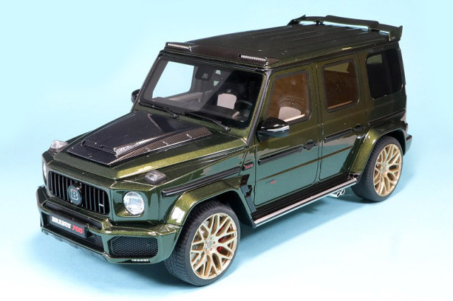 GT-SPRIT 1/18 ブラバス 700 ワイドスター グリーン GTS274