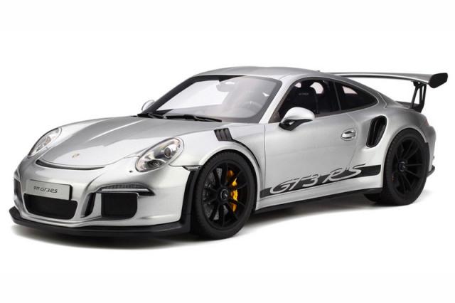 GT-SPIRIT 1/12 ポルシェ 911 GT3 RS シルバー GTS705
