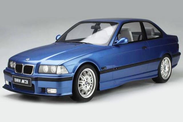[予約] GT-SPIRIT 1/8 BMW M3 E36 3.2 ブルー GTS801001