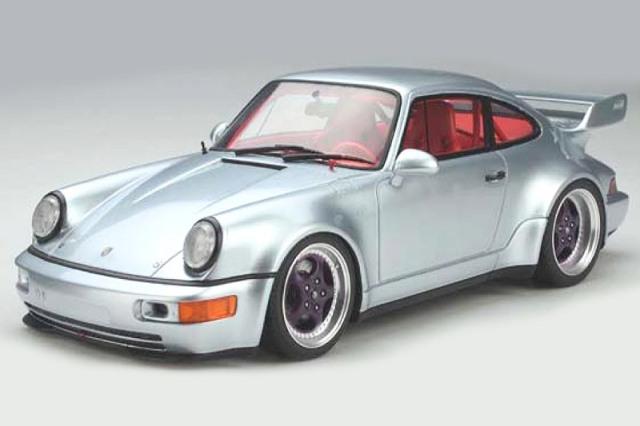 [予約] GT-SPIRIT 1/18 ポルシェ 964 RSR 3.8 シルバー GTS837