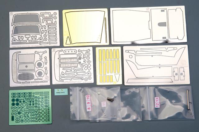 ホビーデザイン 1/24 ロータス スーパー7 シリーズ2 ディティールアップパーツ (タミヤ対応) HD02-0410