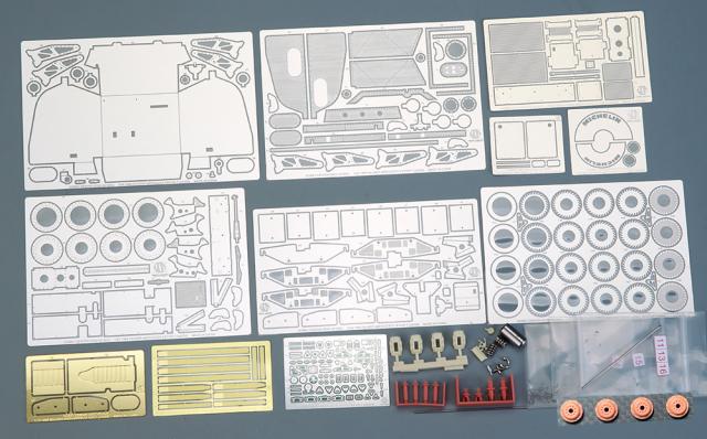 ホビーデザイン 1/24 ザウバー メルセデス C9 ディティールアップセット (タミヤ対応) HD02-0418