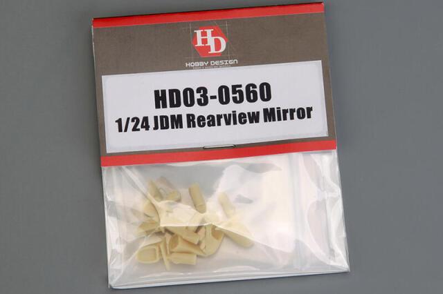 ホビーデザイン 1/24 JDM リアビュー ミラー パーツ HD03-0560