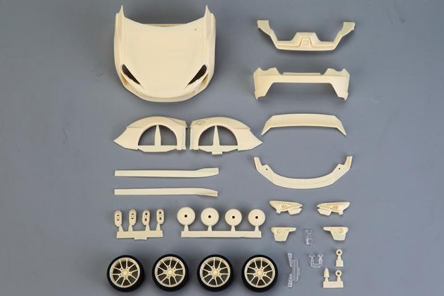 ホビーデザイン 1/24 トランスキット アーティシャン スピリット トヨタ FT86 ワイドボディ (タミヤ対応) HD02-0561