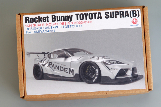 ホビーデザイン 1/24 ロケットバニー トヨタ スープラ タイプB トランスキット (タミヤ対応) HD03-0565