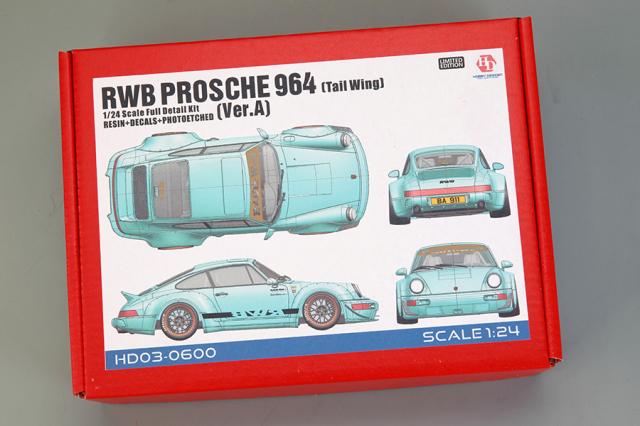 ホビーデザイン 1/24 レジンキット RWB 964 Ver.A ダックテイル HD03-0600
