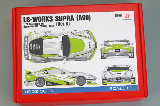 [予約] ホビーデザイン 1/24 トランスキット LB ワークス スープラ A90 Ver.B JD03-0605