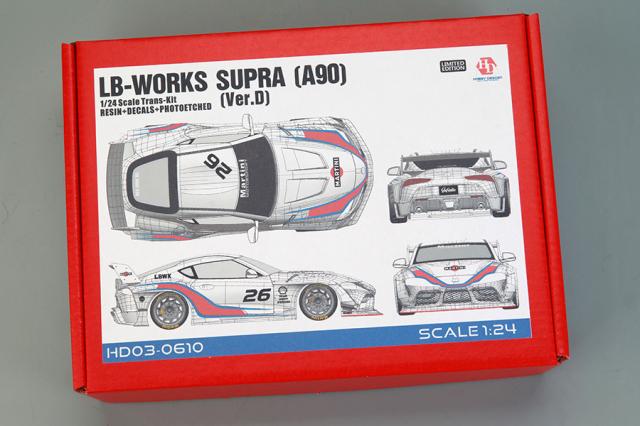ホビーデザイン 1/24 トランスキット LB ワークス スープラ A90 Ver.D マルティニ HD03-0610