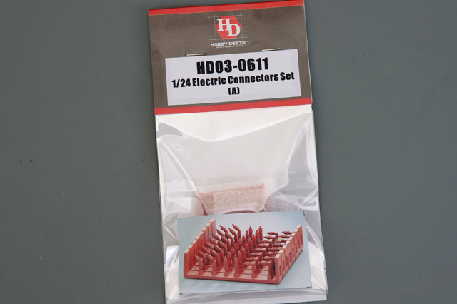 ホビーデザイン エレクトリック コネクターセット A HD03-0611