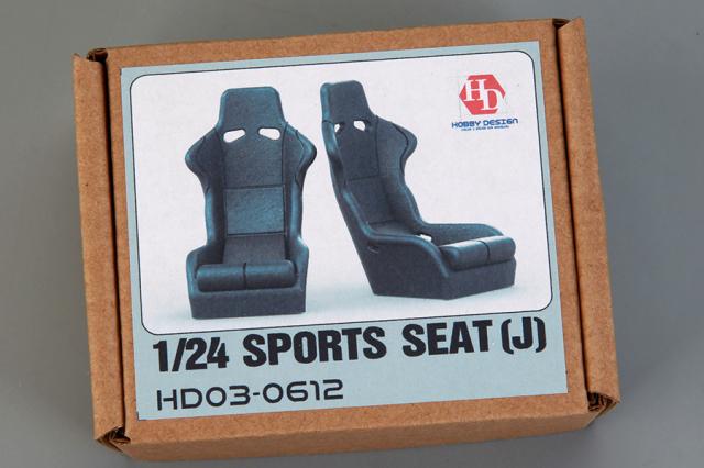 ホビーデザイン 1/24 スポーツ シート J HD03-0612