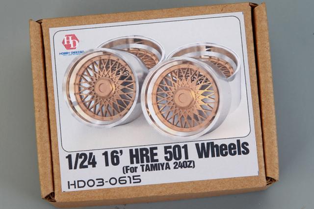 ホビーデザイン 1/24 16インチ HRE 501 ホイール HD03-0615