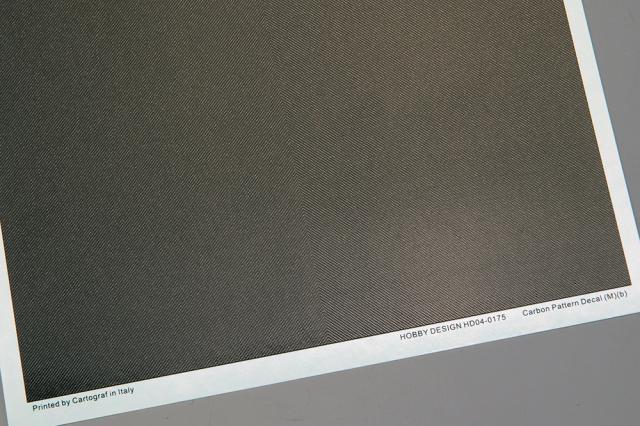 ホビーデザイン 1/24 カーボン デカール (M) B 1/20推奨 HD04-0175
