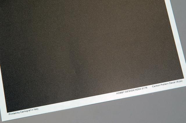 ホビーデザイン 1/24 カーボン デカール (S) A 1/24推奨 HD04-0176