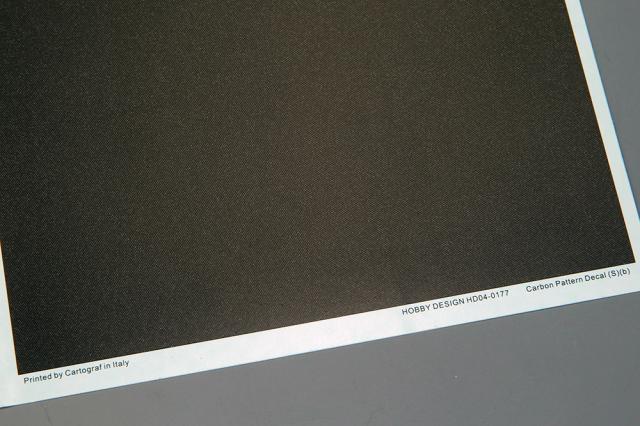 ホビーデザイン 1/24 カーボン デカール (S) B 1/24推奨 HD04-0177