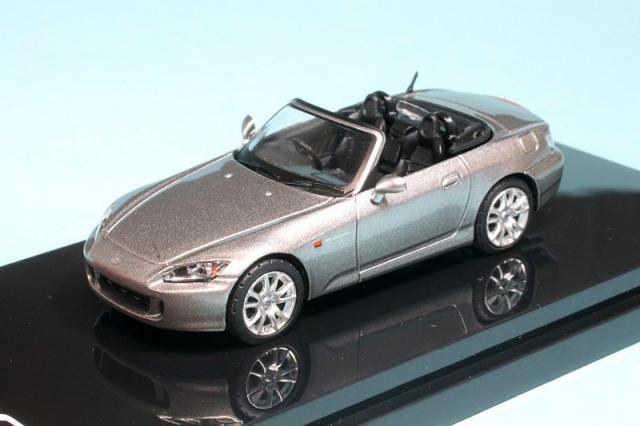 ホビージャパン 1/64 ホンダ S2000 AP1 タイプ200 ムーンロックメタリック HJ641020S