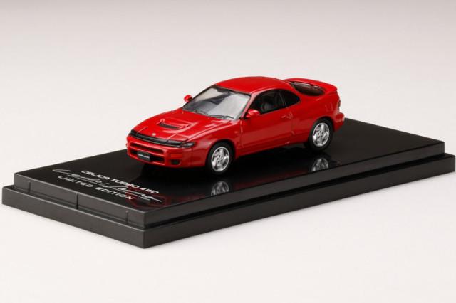 [予約] ホビージャパン 1/64 トヨタ セリカ ターボ 4WD カルロス サインツ リミテッドエディション スーパーレッドII HJ641023DR