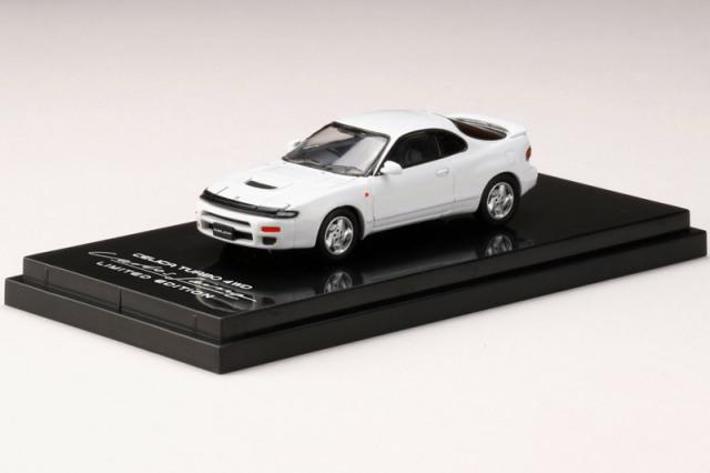 [予約] ホビージャパン 1/64 トヨタ セリカ ターボ 4WD カルロス サインツ リミテッドエディション スーパーホワイトII HJ641023DW