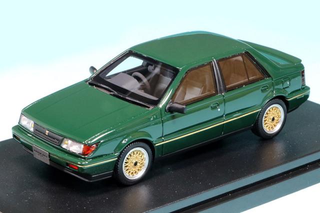 ハイストーリー 1/43 いすゞ ジェミニ ZZ 1988 カスタマイズ ブリティッシュグリーン HS311GR