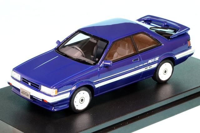 ハイストーリー 1/43 スバル レオーネ RX/II 1986 ブルー HS319BL