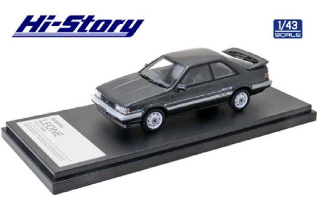 [予約] ハイストーリー 1/43 スバル レオーネ RX/II 1986 グレーメタリック HS319GY